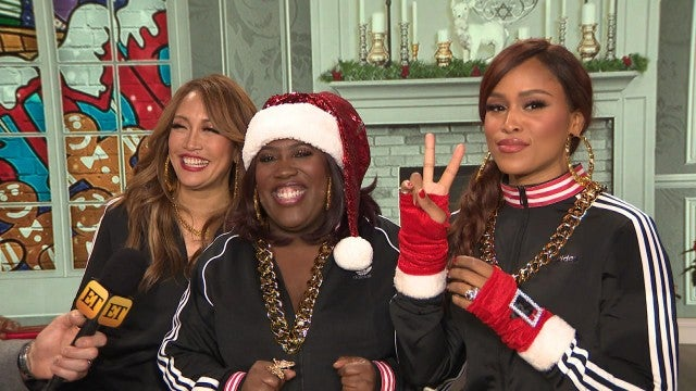 'The Talk': Behind the Scenes of Their First Christmas Episode (Exclusive)