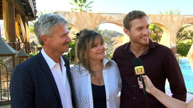 Watch Pilot Pete Give His Parents a Tour of 'The Bachelor' Mansion (Exclusive)
