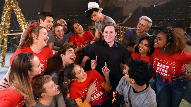 'High School Musical' Alum Lucas Grabeel Makes a Special Cameo on Disney Plus Series (Exclusive)
