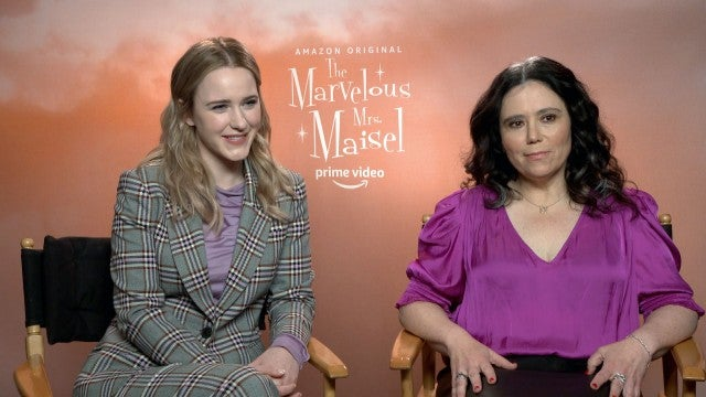 'The Marvelous Mrs. Maisel' Season 3: Rachel Brosnahan and Alex Borstein Talk 'Growing Pains'