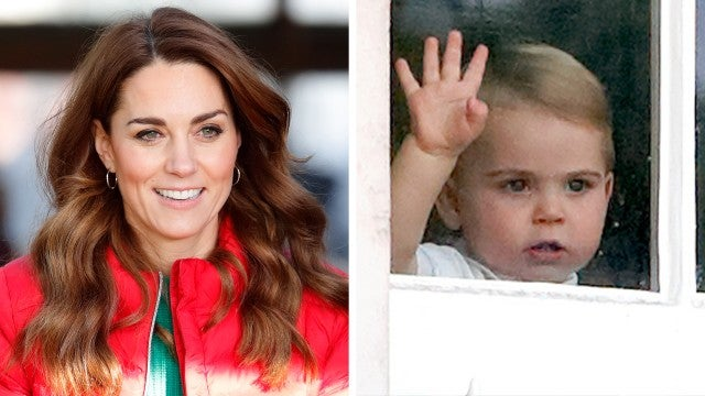 Kate Middleton Reveals 1-Year-Old Prince Louis Follows Her 'Everywhere' and Is Talking!