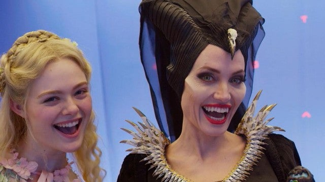 'Maleficent: Mistress of Evil' Bloopers! Watch Angelina Jolie Goof Off on Set (Exclusive)