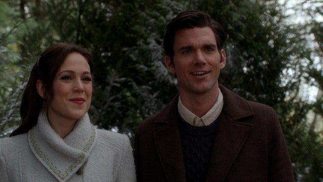 'When Calls the Heart' Christmas Movie: Elizabeth and Nathan Share a Tender Moment (Exclusive)