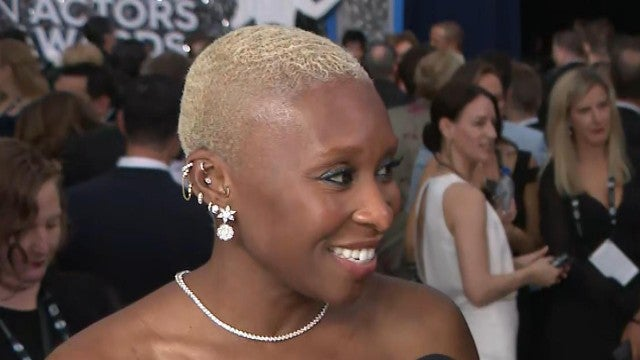 SAG Awards 2020: Cynthia Erivo Says She 'Freaked Out' Over Oscar Nominations