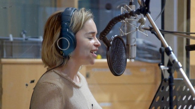 'Last Christmas': Watch Emilia Clarke Sing in Behind the Scenes Clip! (Exclusive)