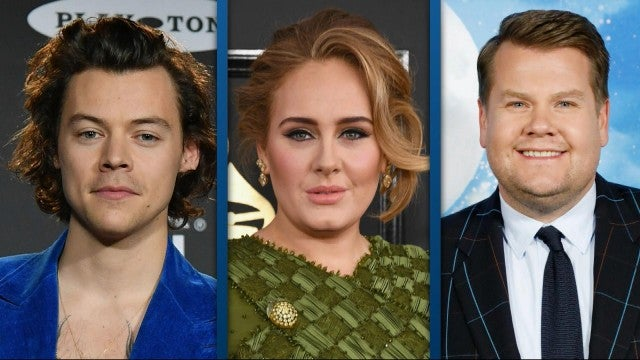 Harry Styles Leaves $2K Tip During Dinner With Adele and James Corden