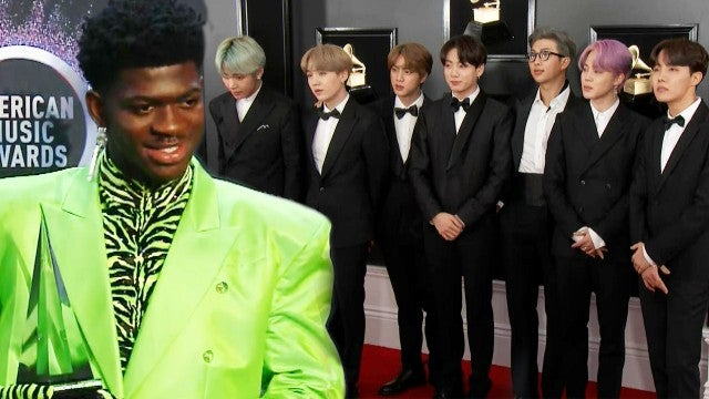 BTS Joining Lil Nas X in 'Old Town Road' Performance at the GRAMMYs