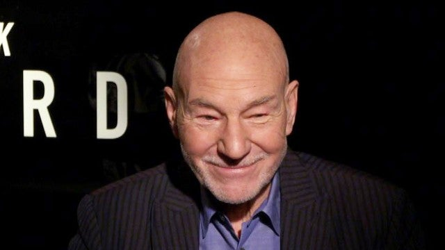 'Star Trek's Sir Patrick Stewart Talks About His Love for Pitbulls (Exclusive)