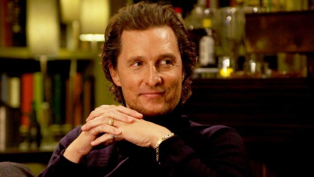 'The Gentlemen's Matthew McConaughey Dishes on His Co-Stars (Exclusive)