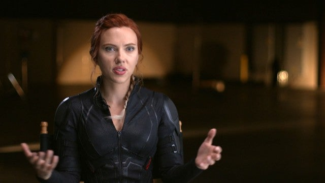 'Black Widow': Behind the Scenes With Scarlett Johansson