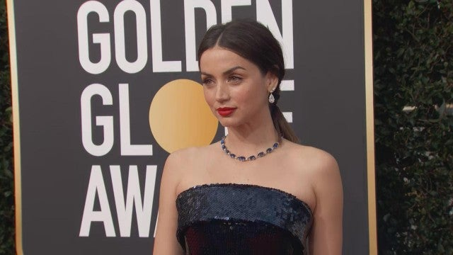Golden Globes 2020: Ana De Armas Shines on the Red Carpet