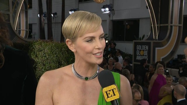 Golden Globes 2020: Why Tom Hanks is 'Everything' to Charlize Theron (Exclusive)