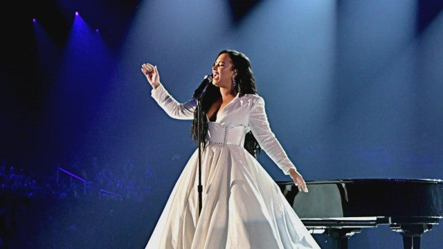 GRAMMYs 2020: Demi Lovato Cries During Performance of 'Anyone'