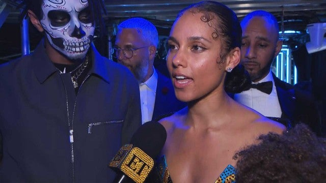 Alicia Keys on How She Got Through Emotional GRAMMYs Evening (Exclusive)