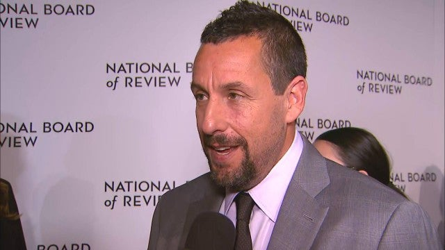 Adam Sandler Says It Would Be 'Funny as Hell' If He Got an Oscar Nom