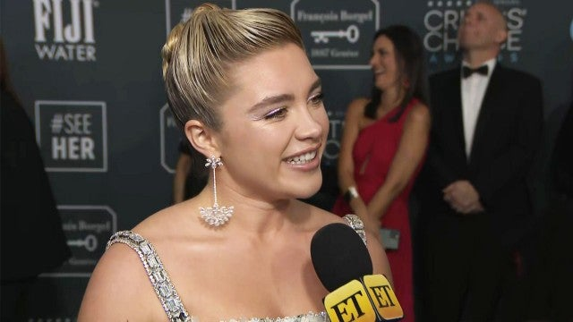 Critics' Choice Awards 2020:  Florence Pugh Says She Screamed at Her 'Vogue' Cover (Exclusive)