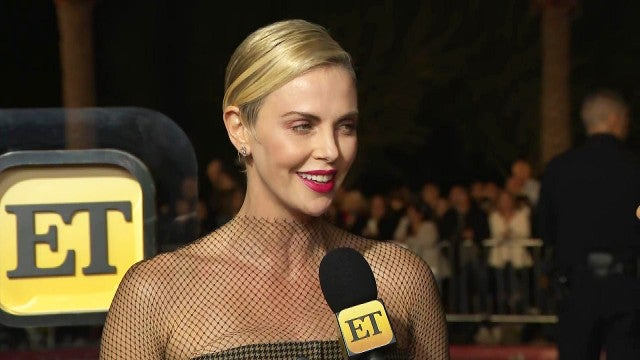 'Bachelor' Super Fan Charlize Theron On If Peter Weber Slid Into Her DMs (Exclusive)