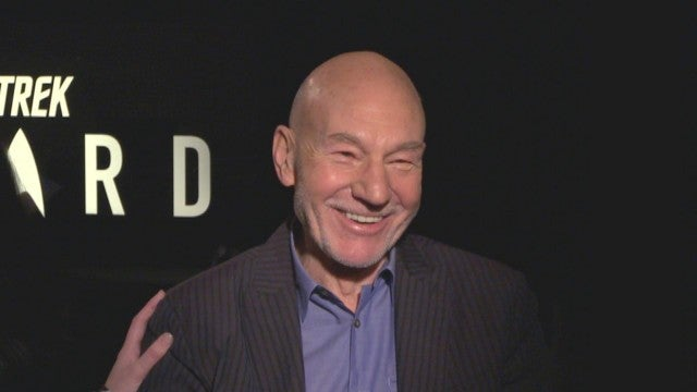 'Star Trek: Picard': Patrick Stewart Reacts to Interview From 1987!