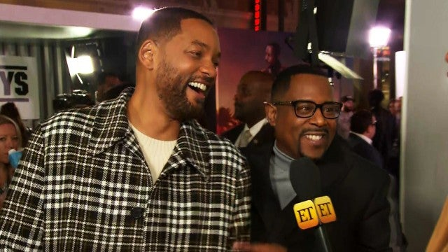 Will Smith and Martin Lawrence Dish on the Original 'Bad Boys' Who Were Supposed to Play Their Roles