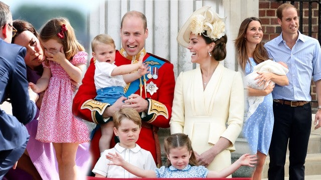 Kate Middleton's 7 Sweetest Mommy Moments with George, Charlotte and Louis
