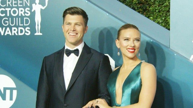 SAG Awards 2020: Scarlett Johansson and Colin Jost Are Red Carpet Couple Goals!