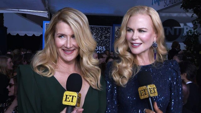 SAG Awards 2020: Nicole Kidman and Laura Dern Tease Possible 'Big Little Lies' Movie (Exclusive)