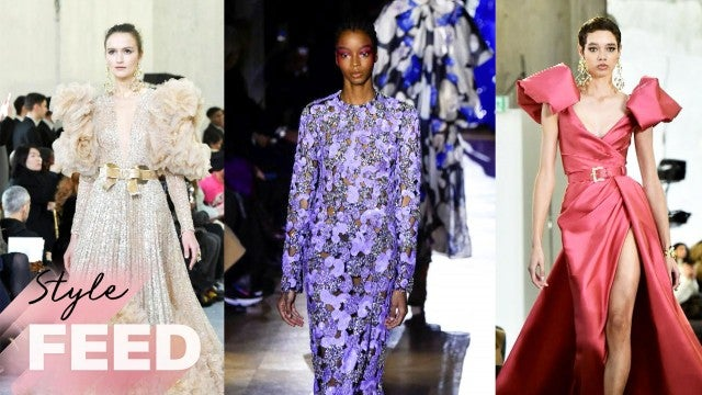 The Most Oscar-Worthy Spring 2020 Couture Gowns | ET Style Feed