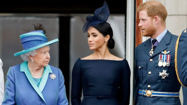 Why Meghan Markle Didn't Call Into Prince Harry's Family Meeting with the Queen