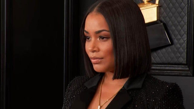 GRAMMYs 2020: Lauren London Wears Nipsey Hussle Tribute on the Red Carpet
