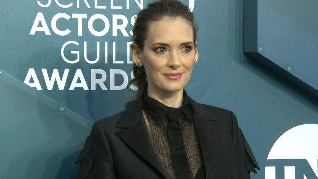 SAG Awards 2020: Winona Ryder Channels 'Beetlejuice' on the Red Carpet