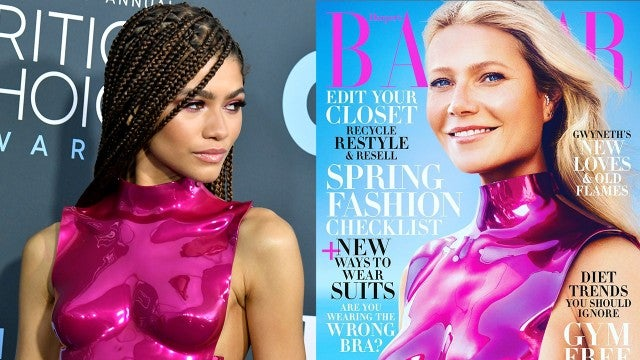 Zendaya and Gwyneth Paltrow Rock the Same Tom Ford Crop Top and Gwyneth Is SO Here For It!