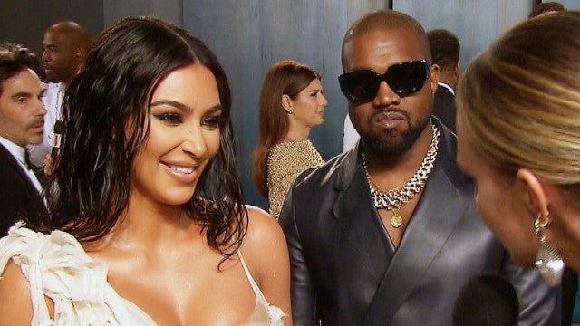 Inside Kim Kardashian and Kanye West's Date Night at the Oscars After-Party