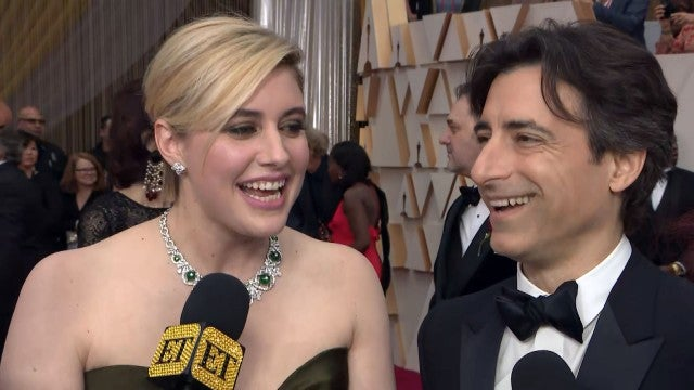Oscars 2020: Greta Gerwig and Noah Baumbach Say They're Both Rooting for Laura Dern (Exclusive)