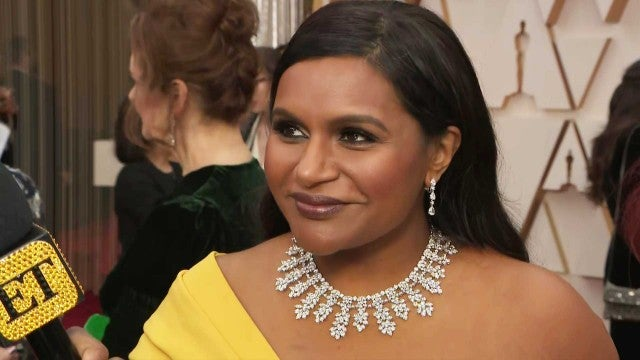 Oscars 2020: Mindy Kaling Really Wants Brad Pitt and Laura Dern to Date -- Here's Why (Exclusive)
