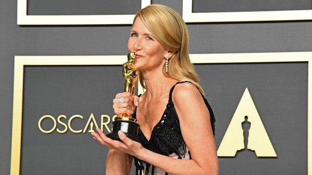 Laura Dern Dedicates First Oscar Win to Famous Parents