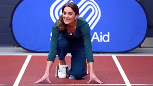 Watch Kate Middleton Show Off Her Sporty Side During Charity Event