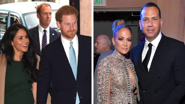 Meghan Markle and Prince Harry Spent 'Quality Time' With Jennifer Lopez and Alex Rodriguez in Miami