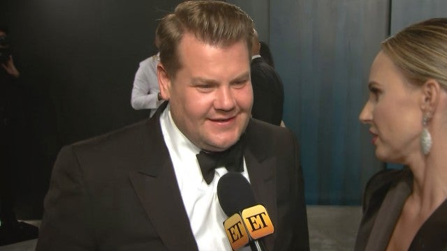 Oscars 2020: James Corden Dishes on Whose Idea It Was to Dress as Cats (Exclusive)