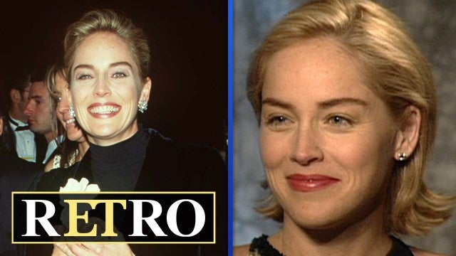 Why Sharon Stone Wore a $21 Gap Sweater to the Oscars | rETro