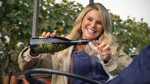 How Christie Brinkley Makes Her Prosecco (Exclusive)