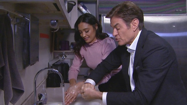 Dr. Oz Shows the Right Way to Wash Your Hands to Avoid the Coronavirus (Exclusive)