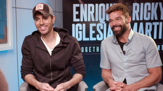 Ricky Martin and Enrique Iglesias on Juggling Parenting and Their New Tour (Exclusive)