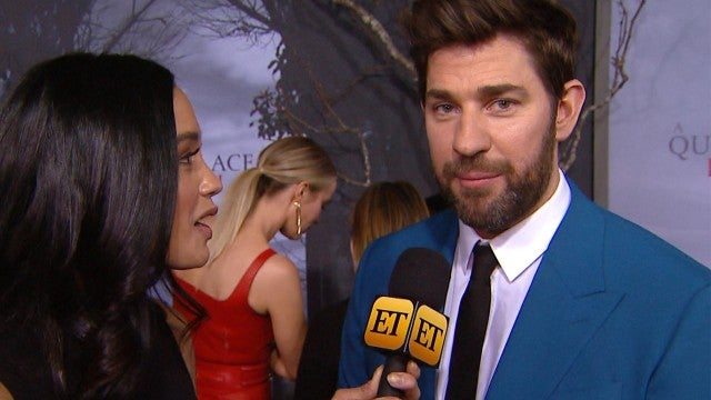 John Krasinski Gushes Over Wife Emily Blunt, Calls Her the 'Best Actress in the World' (Exclusive)