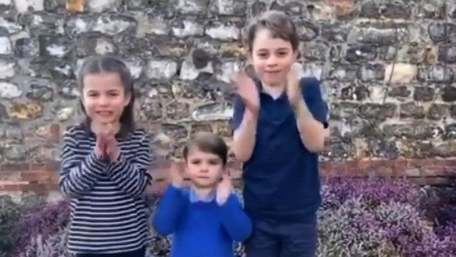 Watch Prince George, Princess Charlotte and Prince Louis Clap for Medical Workers Amid Pandemic