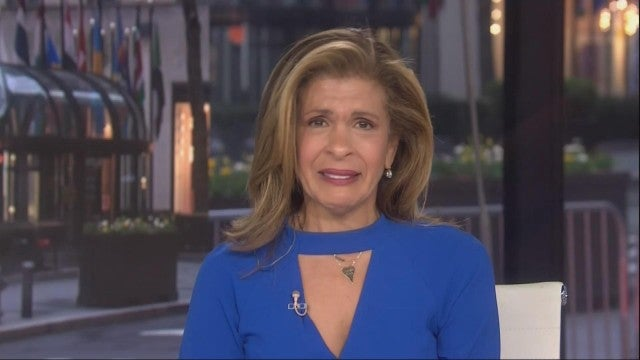 Hoda Kotb Cries Live on the 'Today' Show