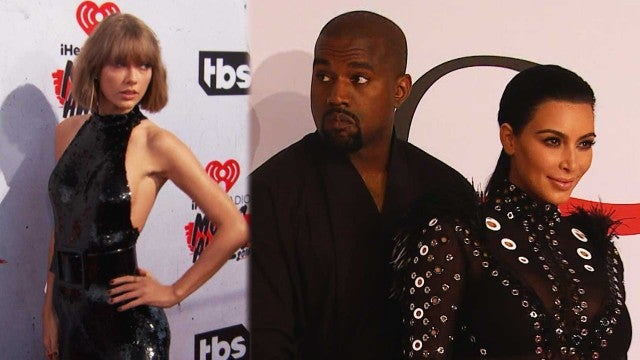 Kim Kardashian Goes on Tweet Storm Against Taylor Swift