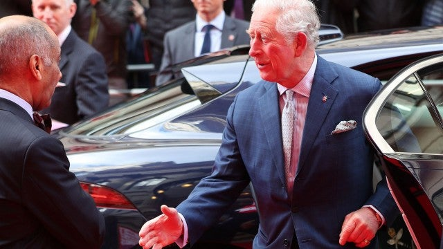 Watch Prince Charles Forget He's Not Supposed to Shake Hands