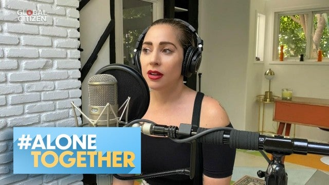How Lady Gaga and Other Celebs Are Giving Back During Quarantine | #AloneTogether