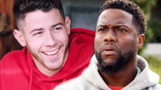 Nick Jonas and Kevin Hart Get WILD on 'What the Fit' (Exclusive)