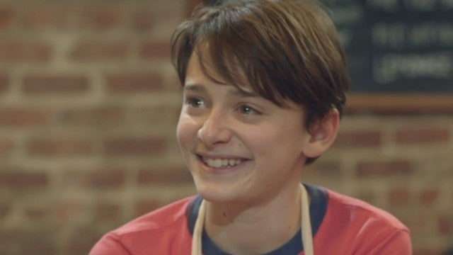'Stranger Things' Star Noah Schnapp Goes Full-On Foodie in 'Abe' (Exclusive Clip)